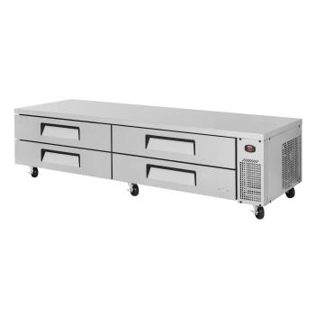 TURTCBE96SDRN - Turbo Air - TCBE-96SDR-N - 4-Drawer 96 in Refrigerated Chef Base Product Image