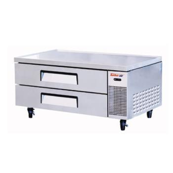 TURTCBE52SDR - Turbo Air - TCBE52SDR - 2 Drawer 52 in Refrigerated Chef Base Product Image