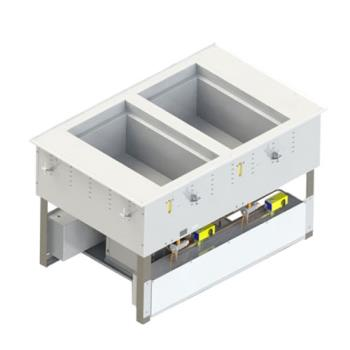 VOL3667202D - Vollrath - 3667202D - 2 Well Hot/Cold Top Mount Unit Product Image