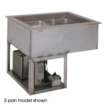 WELRCP7300 - Wells - 22451 - 3-Pan Refrigerated Display Well Product Image