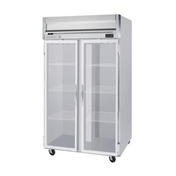 BEVHR21G - Beverage Air - HR2-1G - H Series 2 Glass Door Refrigerator Product Image
