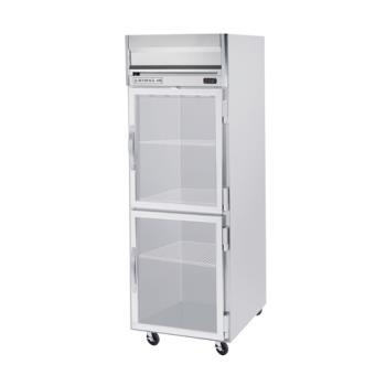BEVHRPS1HC1HG - Beverage Air - HRPS1-1HG - HRPS Series (2) 1/2 Glass Door Reach-In Fridge Product Image