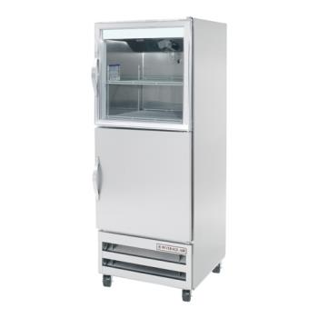 BEVRID18HGS - Beverage Air - RID18-HGS - Pass-Thru Bottom Mount 1 Door Refrigerator Product Image