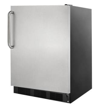 SUMFF7BBISSTB - Summit - FF7BBISSTB - Black AccuCold Built In Refrigerator Product Image