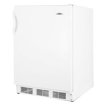 SUMFF7BI - Summit - FF7BI - White AccuCold Built In Refrigerator Product Image