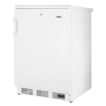 SUMFF7L - Summit - FF7L - 1 Solid Door White AccuCold Series Reach-In Refrigerator Product Image