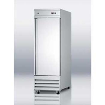SUMSCRR230 - Summit - SCRR230 - Stainless Steel Reach In Refrigerator Product Image