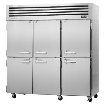 TURPRO776RN - Turbo Air - PRO-77-6R-N - 6 Solid 1/2 Door PRO Series Reach-In Refrigerator Product Image