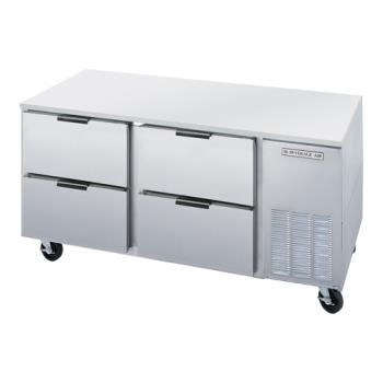 BEVUCRD67AHC4 - Beverage Air - UCRD67AHC-4 - 67 in 4 Drawer Undercounter Refrigerator Product Image