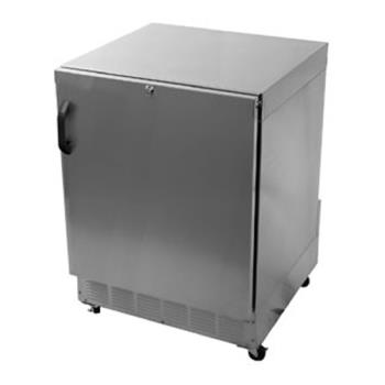 GLTUCR24SR - Glastender - UCR24S-R - Right Hinged Stainless Door Undercounter Refrigerator Product Image