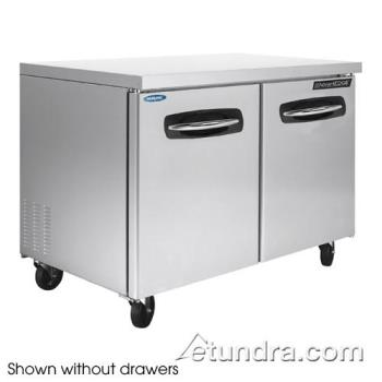 NORNLUR48001 - Nor-Lake - NLUR48A-001 - AdvantEDGE 4 Drawer 48 in Undercounter Refrigerator Product Image
