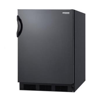 SUMFF7B - Summit - FF7B - Black AccuCold Undercounter Refrigerator Product Image