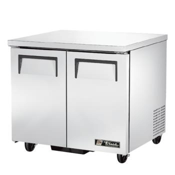 "TRUTUC36 - True - TUC-36 - 2 Door 36"" Undercounter Refrigerator Product Image"