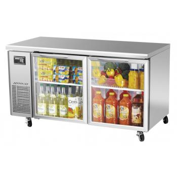 TURJUR60GN - Turbo Air - JUR-60-G-N - J Series 60 in Glass Door Undercounter Refrigerator Product Image