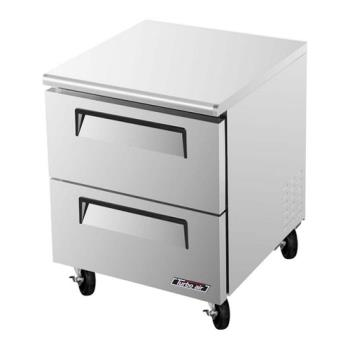 TURTUR28SDD2 - Turbo Air - TUR-28SD-D2 - 28 in 2 Drawer Undercounter Refrigerator Product Image