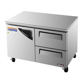 TURTUR48SDD2 - Turbo Air - TUR-48SD-D2 - 48in 2 Drawer Undercounter Refrigerator Product Image