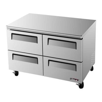 TURTUR48SDD4 - Turbo Air - TUR-48SD-D4 - 48in 4 Drawer Undercounter Refrigerator Product Image