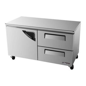 TURTUR60SDD2 - Turbo Air - TUR-60SD-D2 - 60 in 2 Drawer Undercounter Refrigerator Product Image