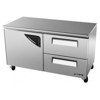 TURTUR60SDD2N - Turbo Air - TUR-60SD-D2-N - 60 in 2-Drawer Undercounter Refrigerator Product Image
