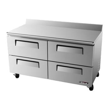 TURTUR60SDD4 - Turbo Air - TUR-60SD-D4 - 60 in 4 Drawer Undercounter Refrigerator Product Image