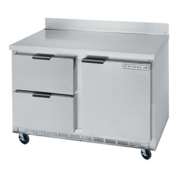 BEVWTRD48AHC2 - Beverage Air - WTRD48AHC-2 - 48 in 2 Drawer Worktop Refrigerator Product Image