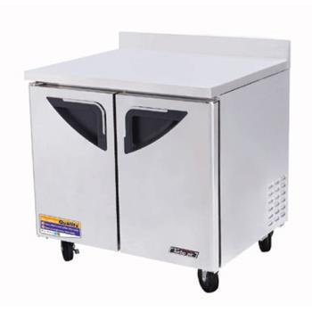 TURTWR36SD - Turbo Air - TWR-36SD - Super Deluxe 2 Door 36 in Worktop Refrigerator Product Image