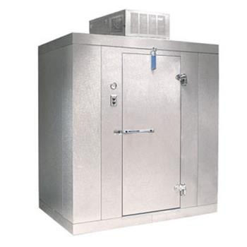 NORKLF7766C - Nor-Lake - KLF7766-C - 6 ft x 6 ft x 7 ft-7 in Kold Locker™ Self Contained Walk-in Freezer w/Floor Product Image