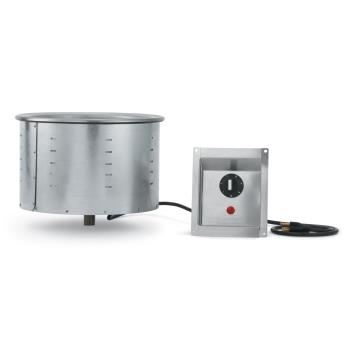 VOL36465 - Vollrath - 36465 - 208-240V 11 Qt Drop-In Soup Warmer With Infinite Control Product Image