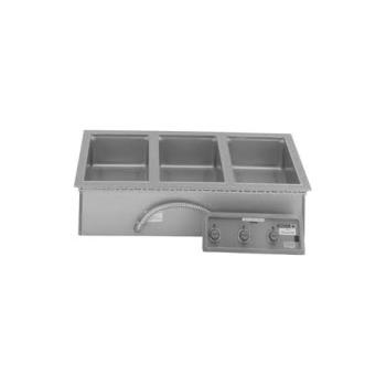 WELMOD300TD - Wells - MOD300TD - Built-In (3) Pan Thermostatic Warmer w/ Drain Product Image