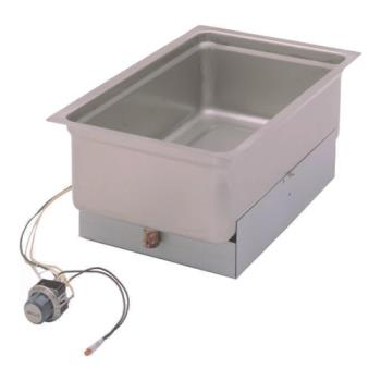 761091 - Wells - SS206ED - Built-In Bottom Mount Single Pan Warmer w/ Drain Product Image