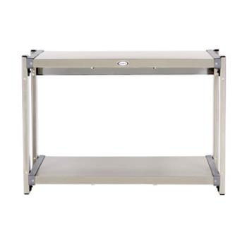 CDOCMLW2 - Cadco - CMLW-2 - 20 1/2 x 14 in Multi Level Stainless Steel Countertop Warming Shelf Product Image