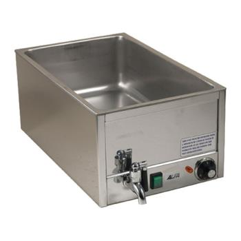 62438 - Alfa - FW9000 - Single Countertop Food Warmer With Spigot Product Image