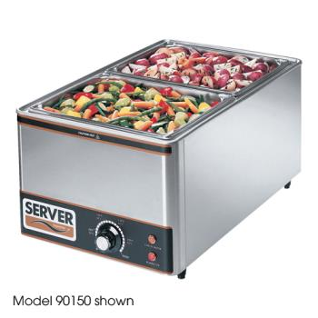 SVP90160 - Server - 90160 - Supreme™ Full Size Pan Warmer w/(3) 1/3-Size Pans Product Image