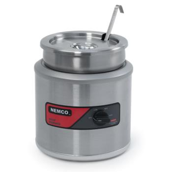62440 - Nemco - 6101A - 11 Qt Round Countertop Food Warmer Product Image