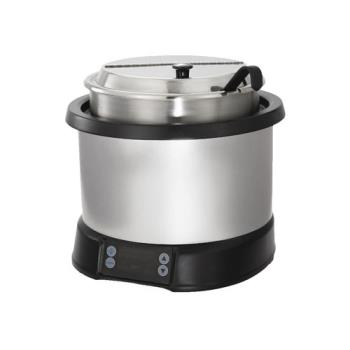 VOL7470110 - Vollrath - 7470110 - 7 Qt Silver Induction Rethermalizer Product Image