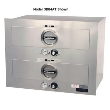 TOA3B20AT09 - Toastmaster - 3B20AT09 - 2 Drawer 23 in x 23 in 120V Built-In Warmer Product Image