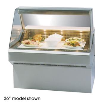 "FEDSQ8HD - Federal - SQ-8HD - Market Series 96"" Hot Deli Case Product Image"