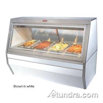 HWDCHS358B - Howard McCray - CHS35-8-B - 6-Well Black Hot Food Case Product Image