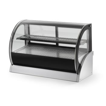 VOL40857 - Vollrath - 40857 - 60 in Curved Glass Heated Display Cabinet Product Image