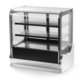 VOL40865 - Vollrath - 40865 - 36 in Cubed Glass Heated Display Cabinet Product Image
