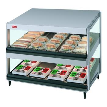HATGRSDS30D120QS - Hatco - GRSDS-30D-120 - 30 in 2-Tier Glo-Ray® Merchandising Food Warmer Product Image