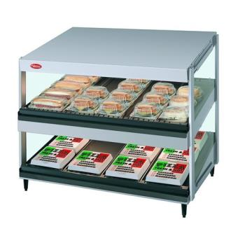 HATGRSDS36D120QS - Hatco - GRSDS-36D-120 - 36 in 2-Tier Glo-Ray® Merchandising Food Warmer Product Image