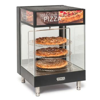 NEM6421 - Nemco - 6421 - 3-Tier Open View 18 in Rack Pizza Merchandiser Product Image