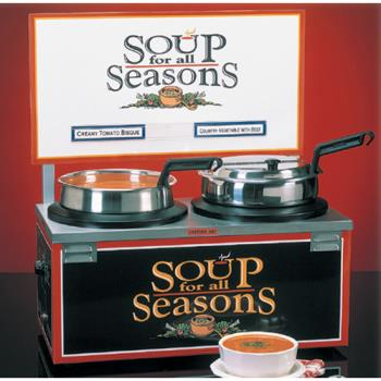 NEM6510A2D7 - Nemco - 6510A-2D7 - Twin 7 Qt. Well Soup Merchandiser Product Image