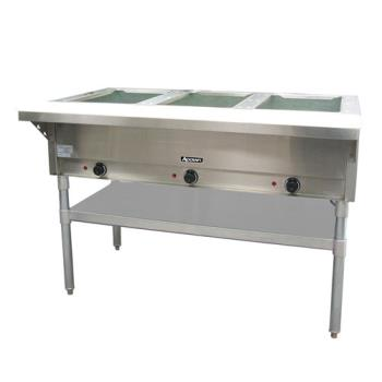 ADMST1203 - Adcraft - ST-120/3 - 48 1/2 in Three Well Hot Steam Table Product Image