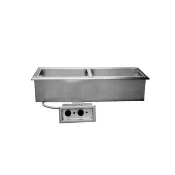 DELN8746ND - Delfield - N8746ND - 2 Pan 45 5/8 in Drop-In Electric Food Well w/ Drain Product Image