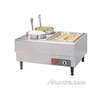 NEM6060A - Nemco - 6060A - 27 in Freestanding Mini Steamtable Product Image