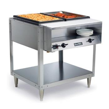 VOL38002 - Vollrath - 38002 - Servewell® 480 Watt 2 Well Hot Food Table Product Image