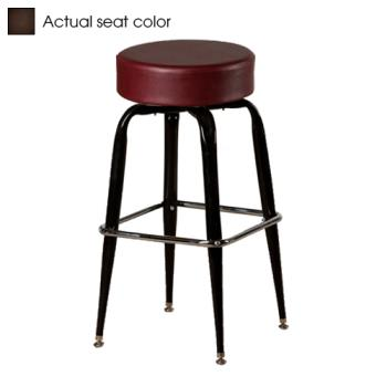 OAKSL2135ESP - Oak Street - SL2135-ESP - Espresso Button Top Stool w/Bucket Frame Product Image