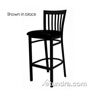 OAKSL42791N - Oak Street - SL4279-1-N - Jailhouse Barstool w/Natural Wood Seat Product Image